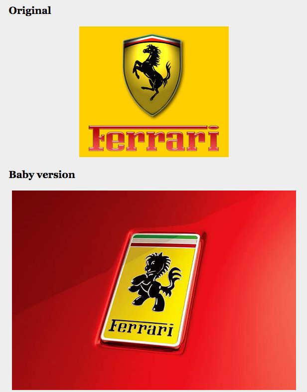 logos bebés de autos