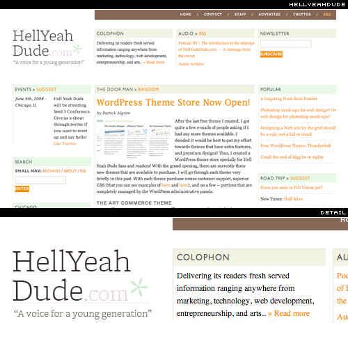 tipografía en web