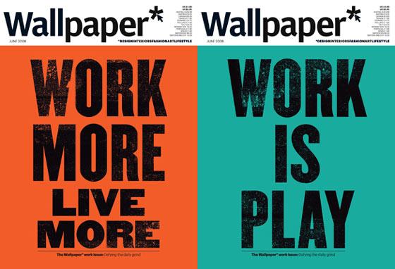 portadas de revista Wallpaper