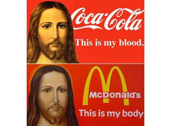 sangre cuerpo coca cola