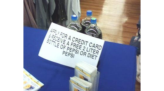 refrescos por tarjetas de crédito