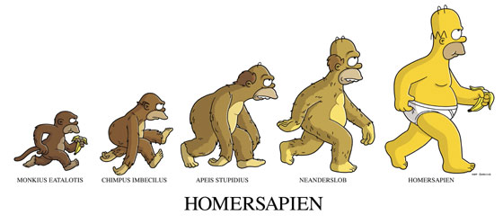 la evolución de Homero