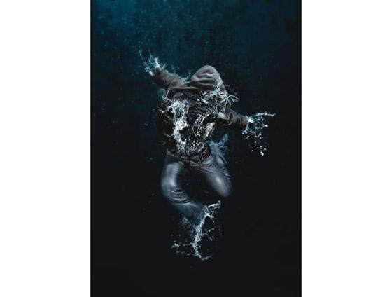 efecto de agua con Photoshop