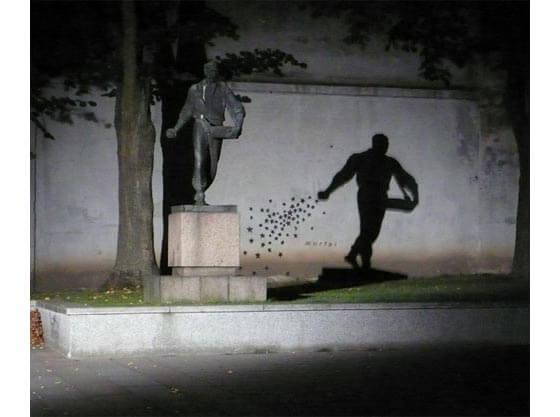 Esculturas con sombras