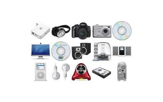 iconos de hardware