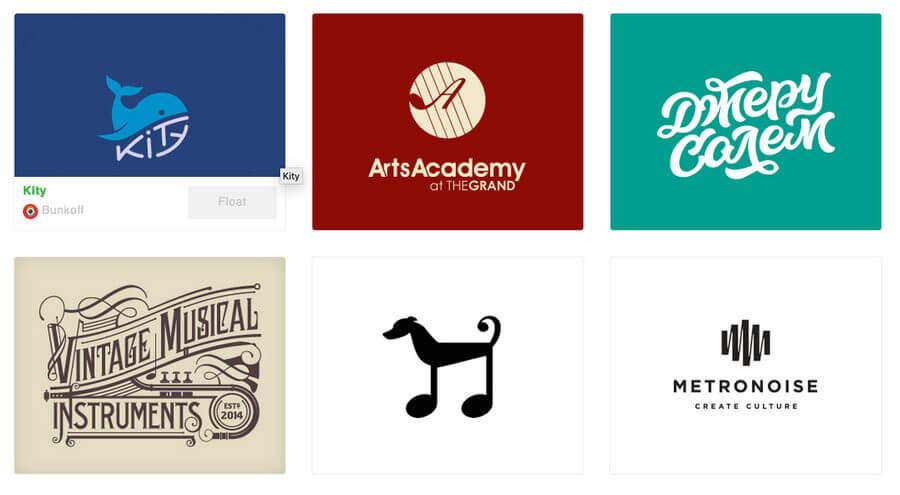 Logotipos de música