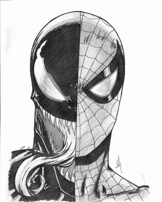 Venom dibujo