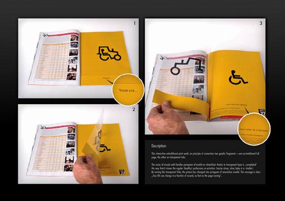publicidad sobre discapacitados