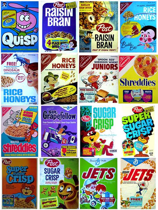 imágenes de cajas de cereal