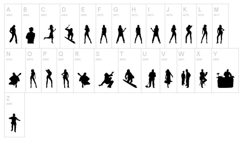 tipografías humanas