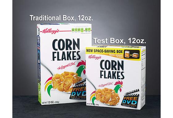 caja de cereal grande