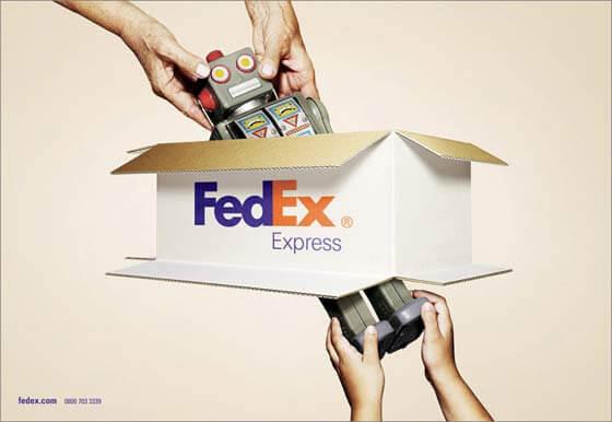 Publicidad de Fedex