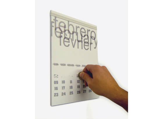 Calendario para rascar