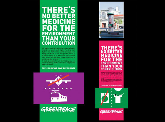 Publicidad de greenpeace