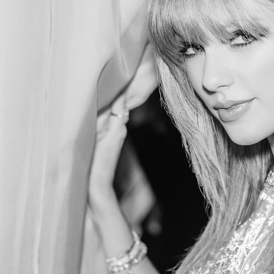 fotos famosas en blanco y negro taylor swift
