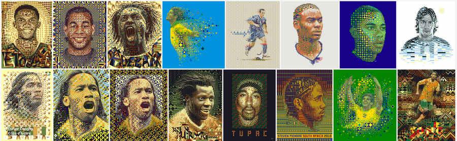 patrones africanos