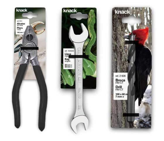 Empaques y embalajes de herramientas