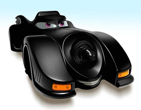Autos tipo Pixar