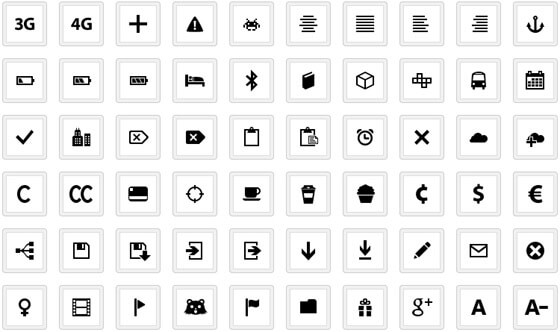iconos con creative commons