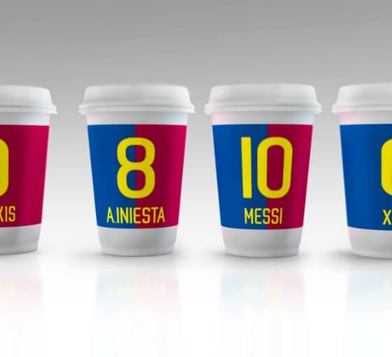 Vaso de café de Barcelona