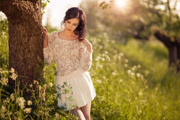 ariane en el bosque