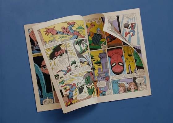 Pinturas de cómics