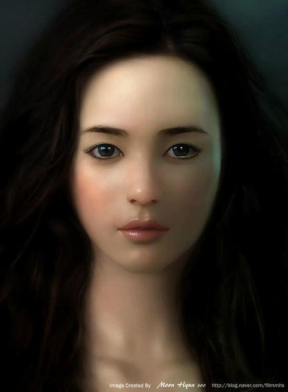 mujeres en 3D