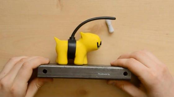 como se hace un vinyl toy