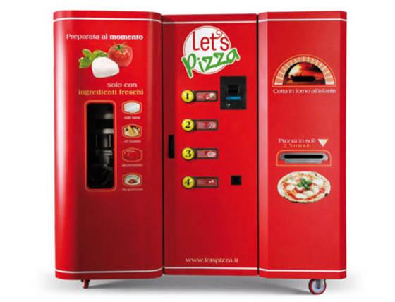 máquina que hace pizza
