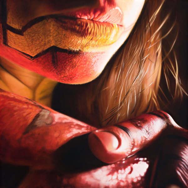 bodypaint en pinturas de acrílicos