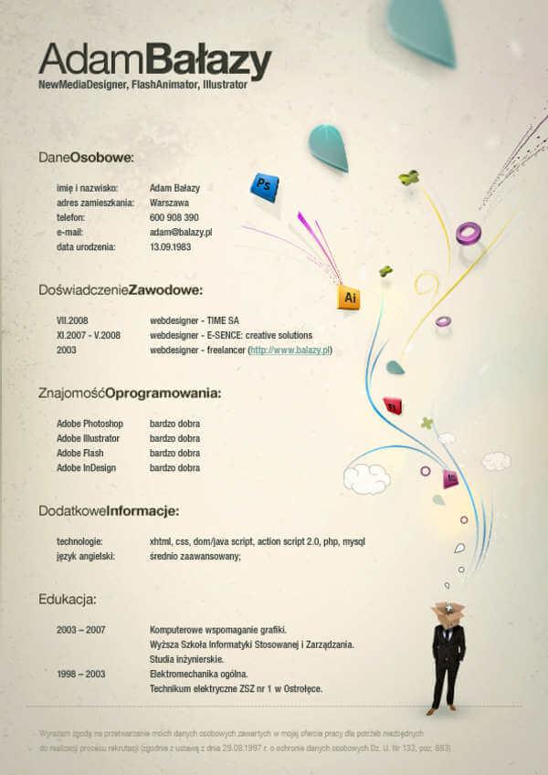 Curriculum vitae creativo