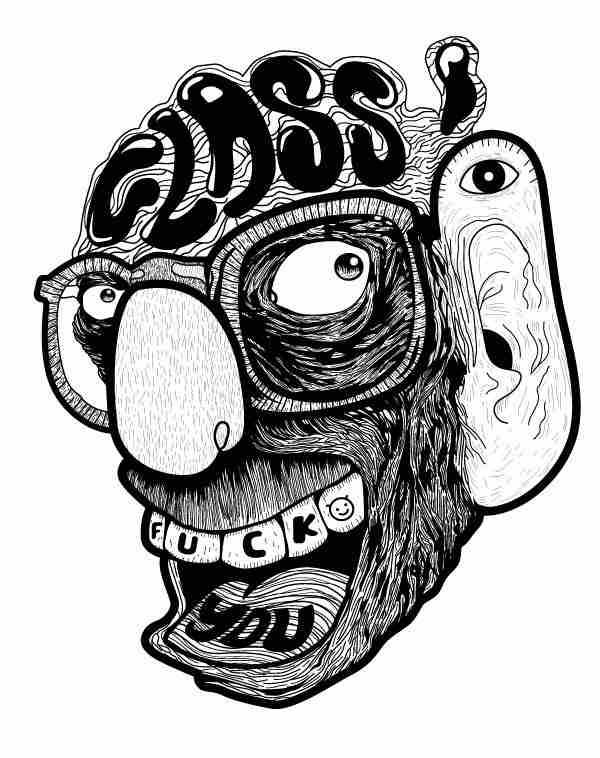 ilustraciones locas
