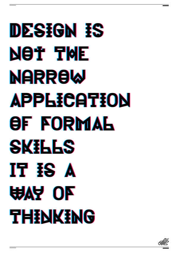 El portafolio de un freelance que diseña fuentes tipográficas