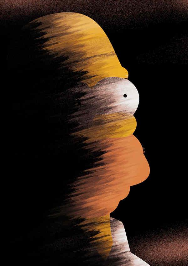 Ilustraciones y posters de Elias Calderón