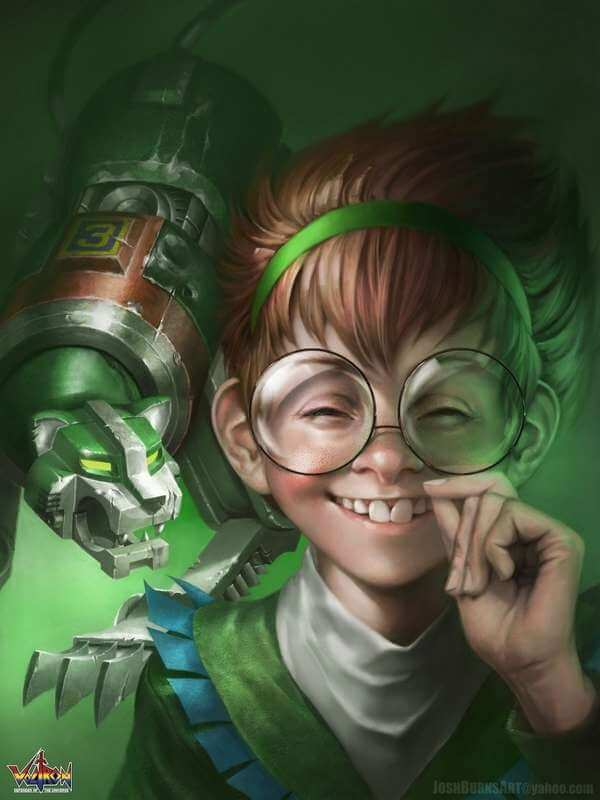Dibujos de personajes de series