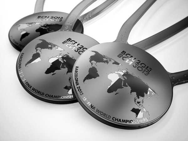 medallas del campeonato del mundo de natación
