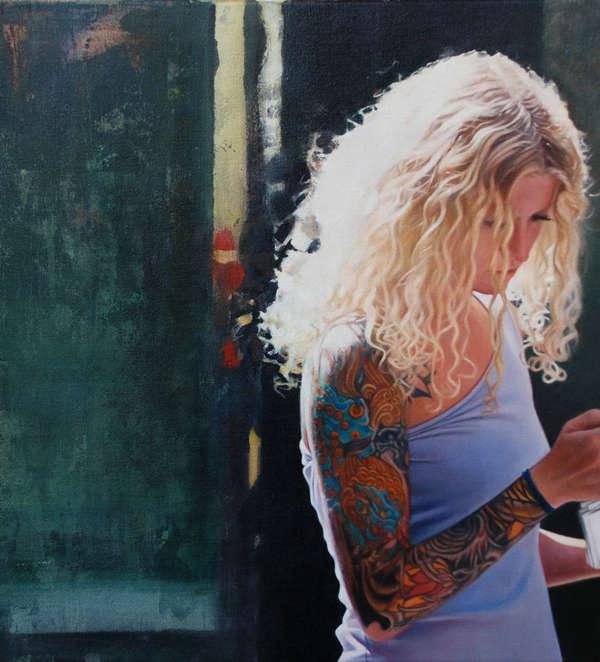 Pinturas de moda urbana inspiradas en mujeres comunes - Pinturas de moda ...
