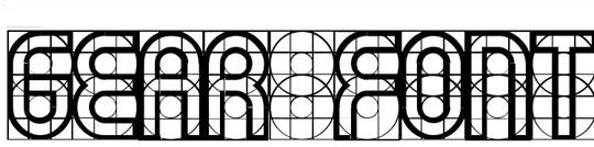 retícula en tipografías