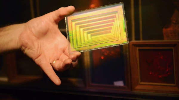 cómo se hacen los hologramas