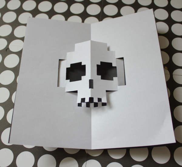 tarjetas de halloween pop-up