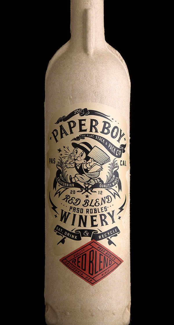 botellas de cartón