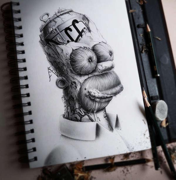 libreta de dibujos
