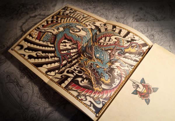 libro para dibujar tatuajes