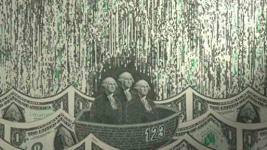 Arte hecho con dinero