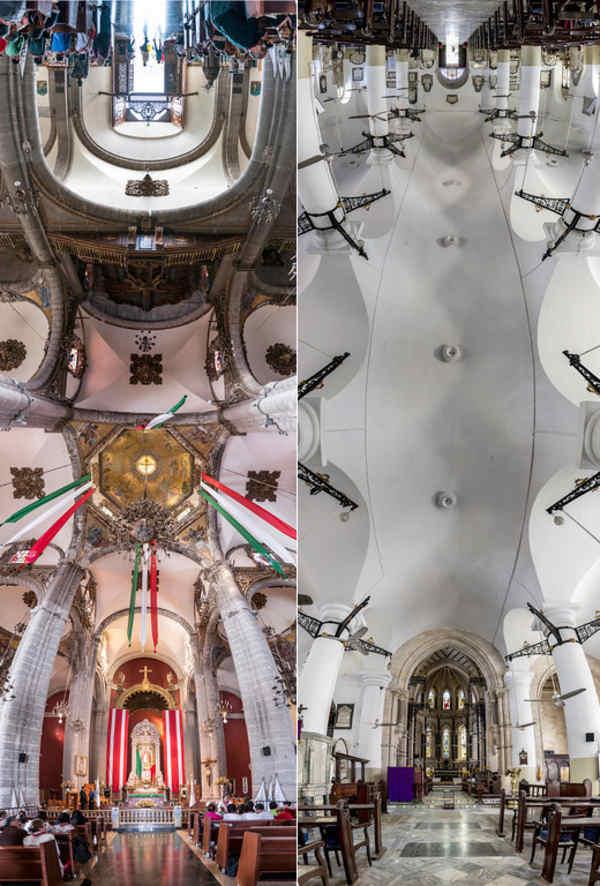 fotos panorámicas de iglesias
