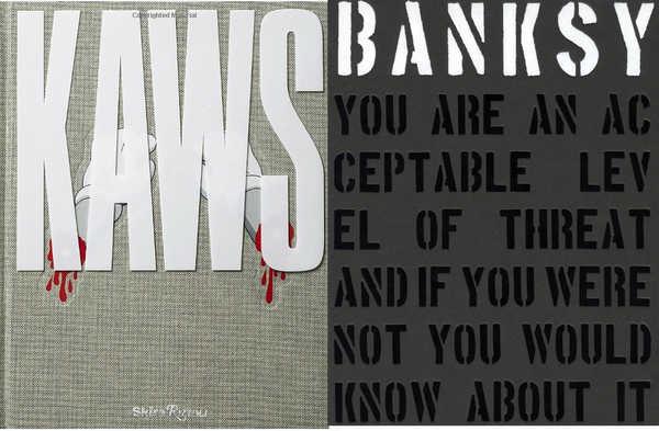 Libro de kaws y banksy