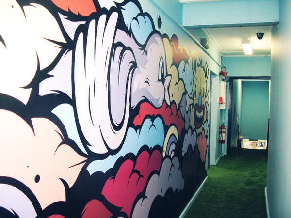 murales como decoración