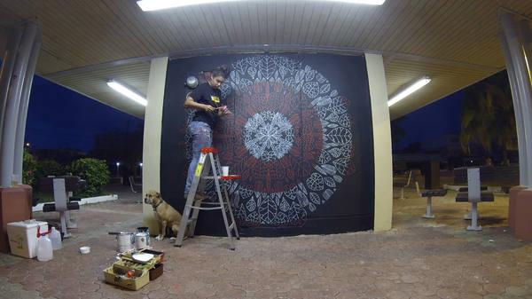 creación de mural