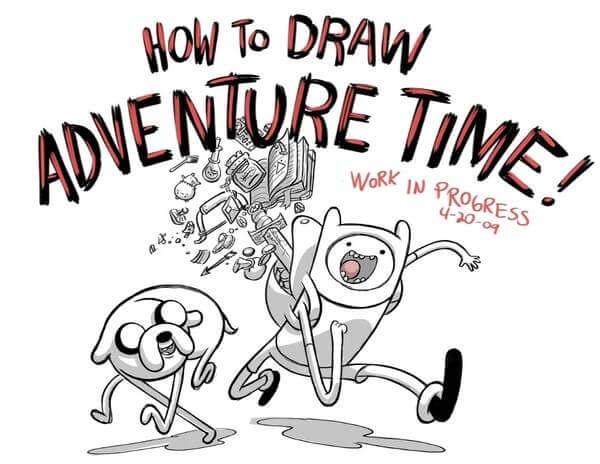 Dibujos Hora de Aventura