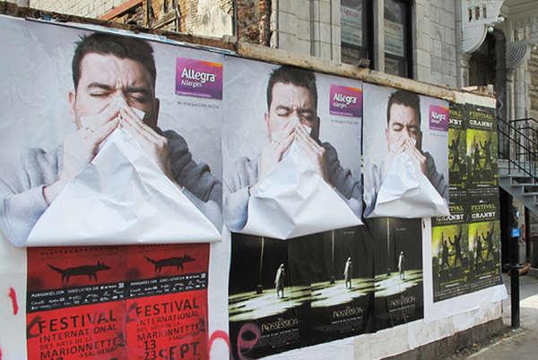 publicidad de alergias